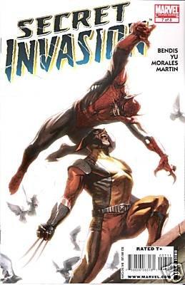 SECRET INVASION #7 NM (2008)