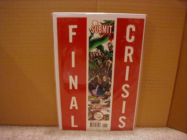 FINAL CRISIS SUBMIT #1 NM (2008) �A� COVER