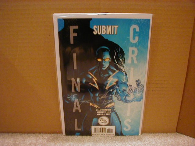 FINAL CRISIS SUBMIT #1 NM (2008) �B� COVER