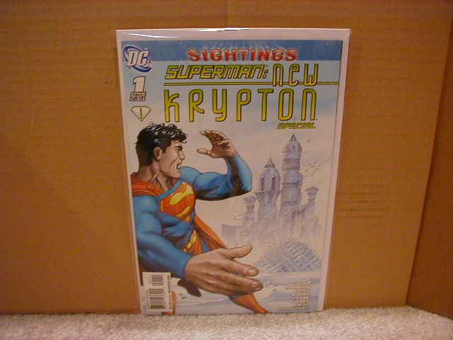 SUPERMAN : NEW KRYPTON ONE-SHOT NM (2008)