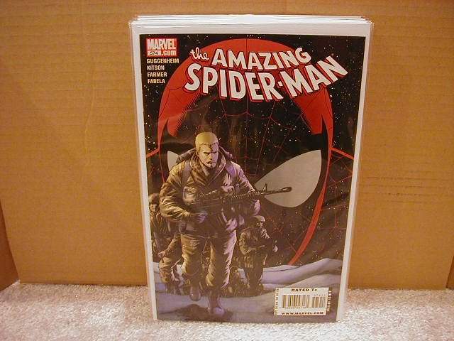 AMAZING SPIDER-MAN #574 NM (2008)