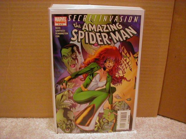 SECRET INVASION AMAZING SPIDER-MAN #3 NM (2008)