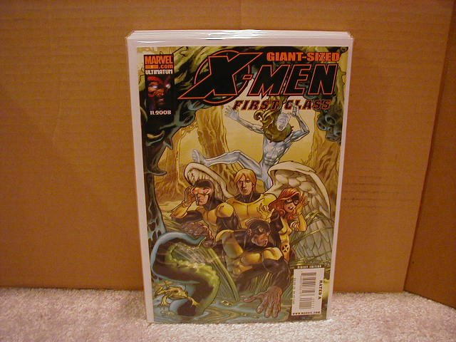X-MEN FIRST CLASS GIANT SIZE SPECIAL  #1 NM (2008)