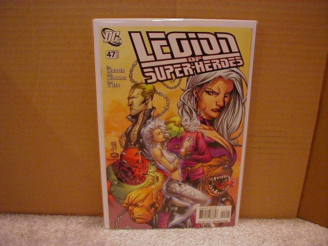LEGION OF SUPERHEROES #47 NM (2008)