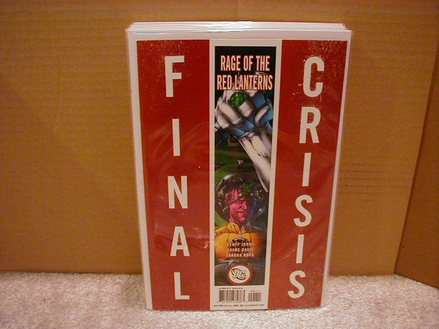 FINAL CRISIS RAGE OF THE RED LANTERNS #1 NM (2008) �B� COVER