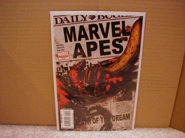 MARVEL APES #4 NM (2008)THE BOOK NOBODY IS TALKING ABOUT!!