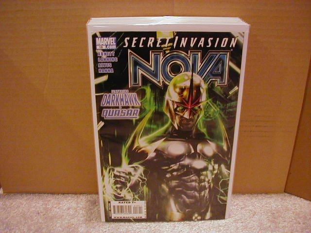NOVA #18 NM (2008) *SECRET INVASION*