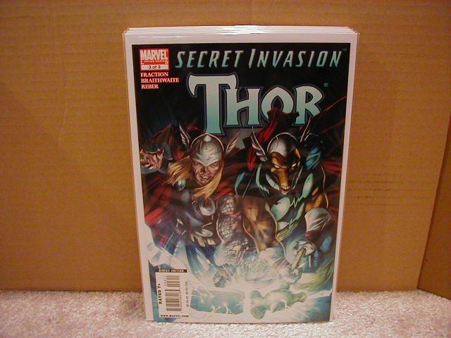 SECRET INVASION THOR #3 NM (2008)