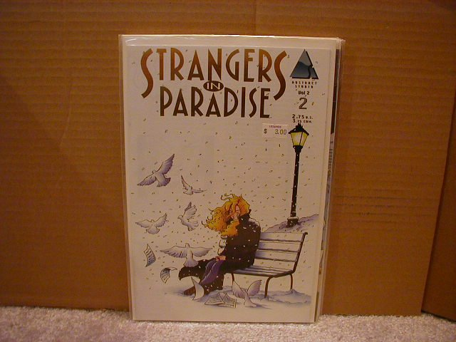 """STRANGERS IN PARADISE VOL 2 #2 VF OR BETTER """"GOLD SERIES"""""""