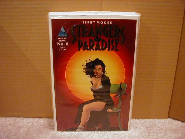 "STRANGERS IN PARADISE #6 VF ""GOLD SERIES"""