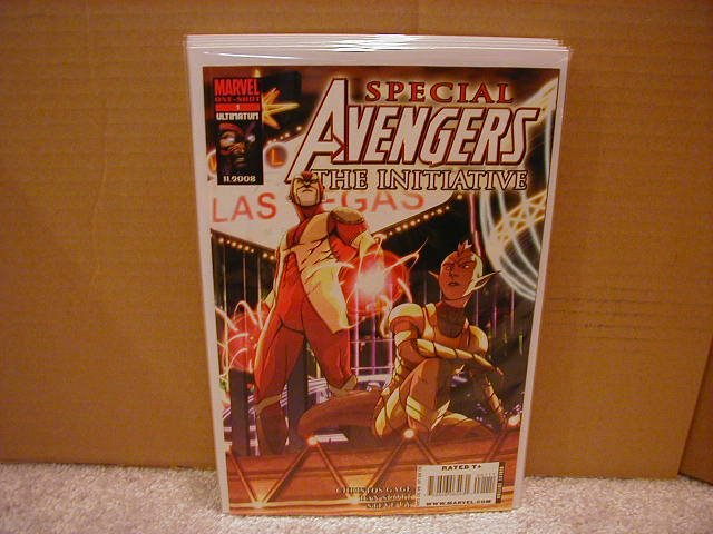 AVENGERS THE INITIATIVE SPECIAL #1 VF/NM (2008)