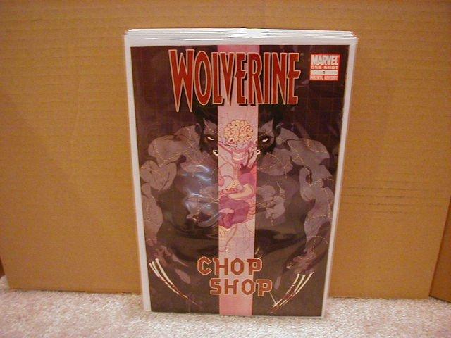 WOLVERINE CHOP SHOP #1 NM (2008)0NE-SHOT