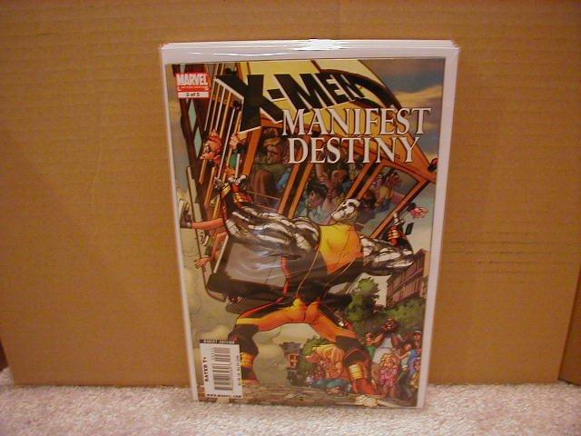X-MEN MANIFEST DESTINY #3 NM (2008)