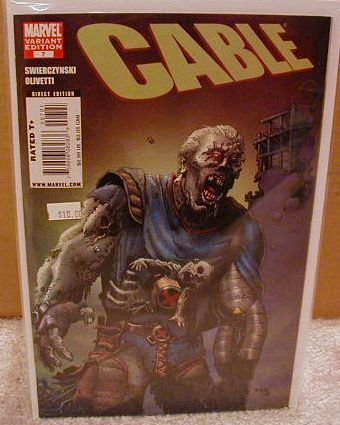 """CABLE #7 NM (2008)""""VARIANT COVER"""""""