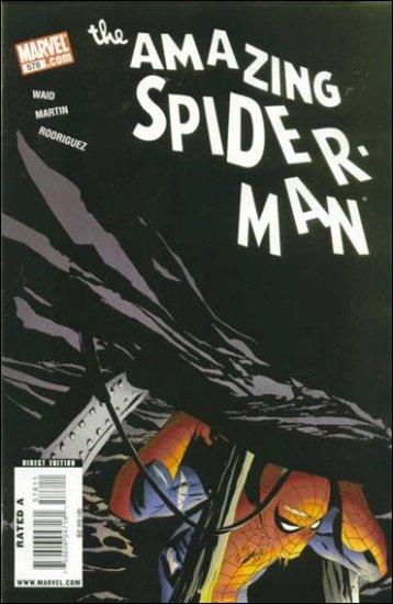 AMAZING SPIDER-MAN #578 NM (2008)