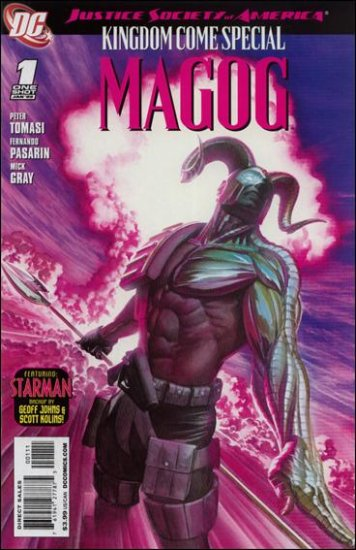 JUSTICE SOCIETY OF AMERICA KINGDOM COME SPECIAL MAGOG NM #1(2008) ONE-SHOT