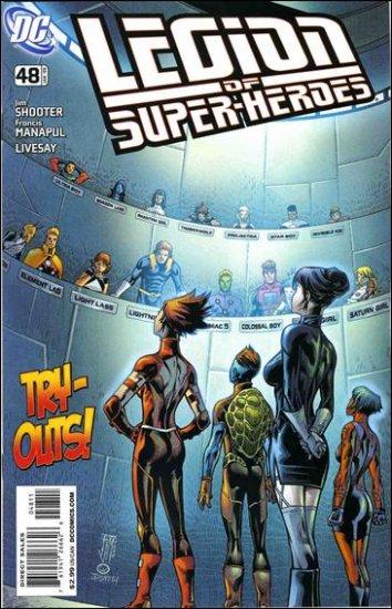 LEGION OF SUPERHEROES #48 NM (2008)