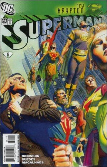 SUPERMAN #682 NM (2008) NEW KRYPTON