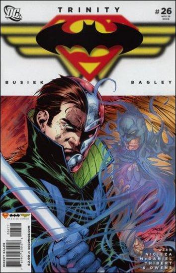 TRINITY #26 NM (2008) SUPERMAN, BATMAN, WONDERWOMAN