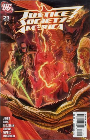 JUSTICE SOCIETY OF AMERICA #21 NM (2008)