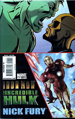 IRON MAN HULK FURY #1 ONE-SHOT NM (2008)