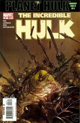 INCREDIBLE HULK #97 VF (2006)PLANET HULK
