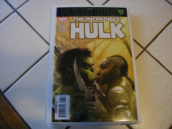 INCREDIBLE HULK #98 NM (2006)PLANET HULK