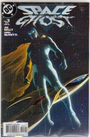 SPACE GHOST #3 NM (2005) ALEX ROSS COVER