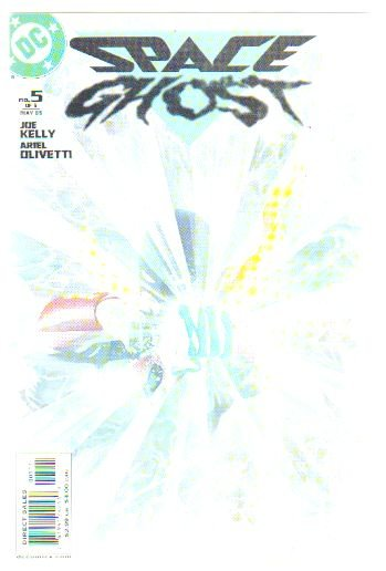 SPACE GHOST #5 NM (2005) ALEX ROSS COVER
