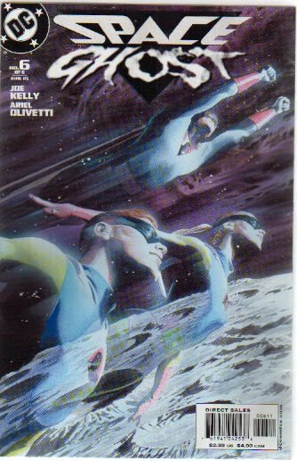 SPACE GHOST #6 NM (2005) ALEX ROSS COVER