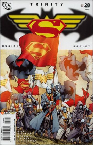TRINITY #28 NM (2008) SUPERMAN, BATMAN, WONDER WOMAN