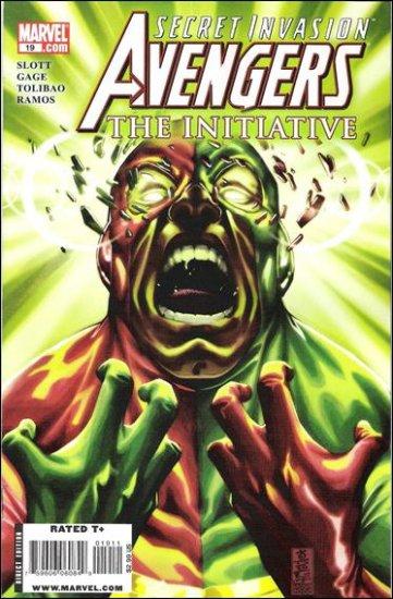 AVENGERS THE INITIATIVE #19 NM (2009)  *SECRET INVASION*