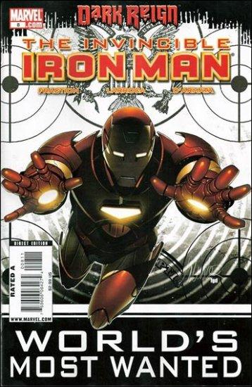 INVINCIBLE IRON MAN #8 NM (2009) *DARK REIGN*