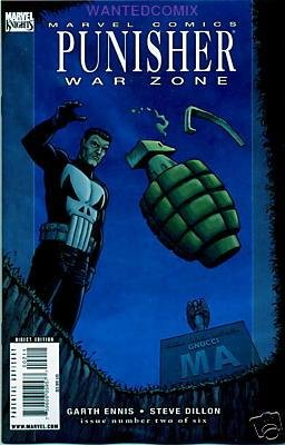 PUNISHER WAR ZONE #2 NM (2009)