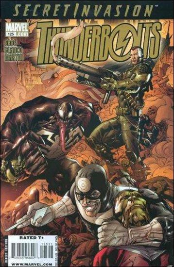 THUNDERBOLTS #125 NM (2008) *SECRET INVASION*