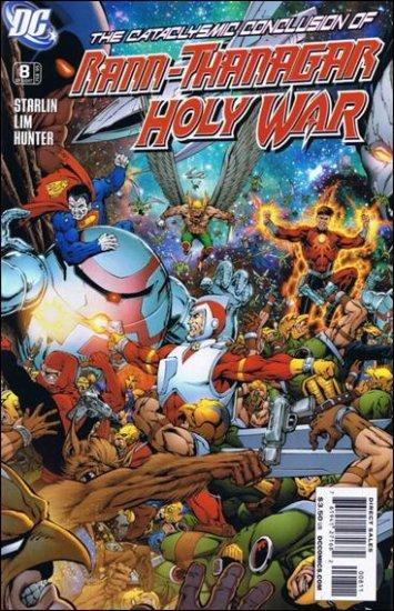 RANN-THANAGAR HOLY WAR #8 NM (2009)