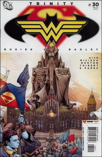 TRINITY #30 NM (2008) SUPERMAN, BATMAN, WONDER WOMAN