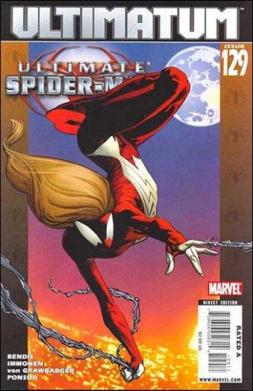 ULTIMATE SPIDER-MAN #129 NM (2008)