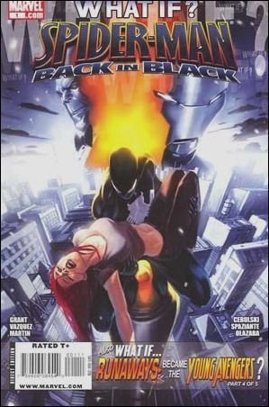 WHAT IF SPIDER-MAN BACK IN BLACK NM(2009)