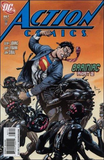 ACTION COMICS #867 NM(2008)
