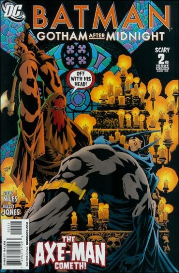 BATMAN GOTHAM AFTER MIDNIGHT #2 NM(2008)