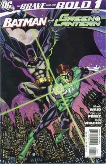 BRAVE AND THE BOLD #1 A- NM (2007) BATMAN & GREEN LANTERN