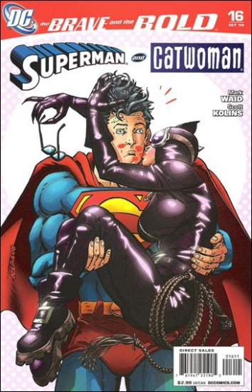 BRAVE AND THE BOLD  #16 NM (2008)SUPERMAN & CATWOMAN