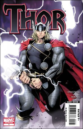 THOR #1 NM  2ND PRINT VARIANT COVER(2007) NEW SERIES