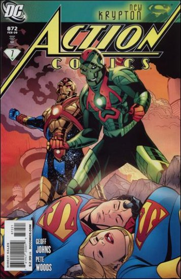 """ACTION COMICS #872 NM (2008)""""VARIANT COVER"""""""