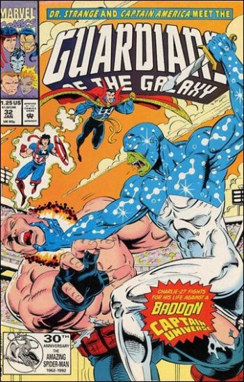 GUARDIANS OF THE GALAXY #32 VF/NM (1990)