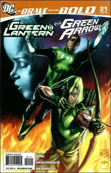 BRAVE AND THE BOLD #21 NM (2009) GREEN LANTERN & PHANTOM STRANGER