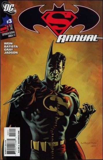 SUPERMAN BATMAN ANNUAL #3 NM (2009)