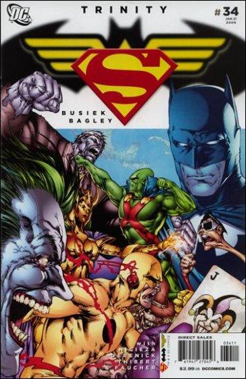 TRINITY #34 NM (2009) SUPERMAN, BATMAN, WONDER WOMAN