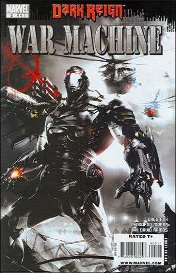 WAR MACHINE #2 NM (2009)